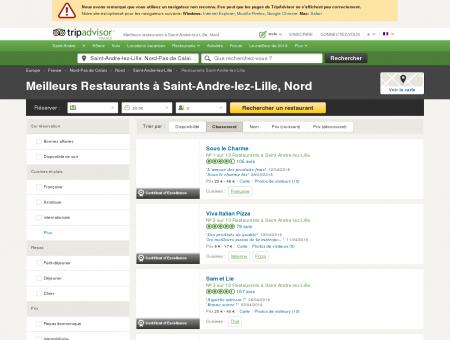 Les 10 meilleurs restaurants à Saint-Andre-lez...