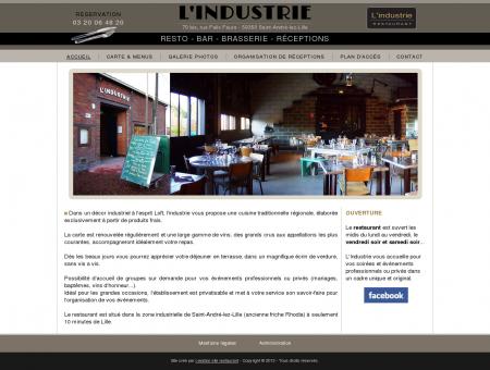 Restaurant L'Industrie à Saint-André, près de...