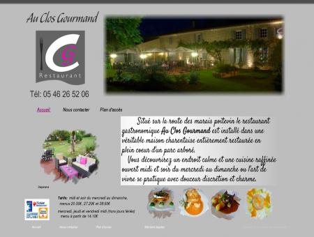 Restaurant Gastronomique - Au Clos...