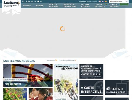 Office de tourisme de Luchon - Luchon.com