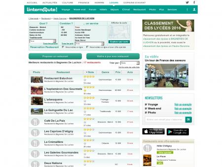 Restaurant Bagneres De Luchon : Le guide...