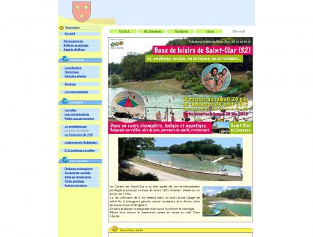 Base de loisirs de Saint-Clar de Lomagne dans...