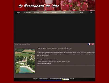 Restaurant du lac à Saint-Clar - Gers - Base de...