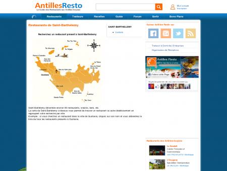 Restaurant Saint Bartélemy - Antilles Resto -...