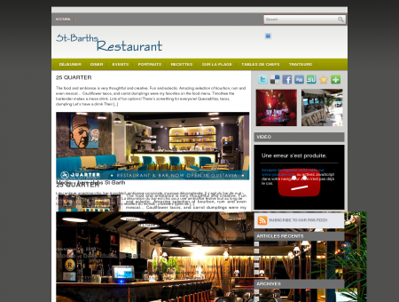 Restaurants Saint Barthelemy