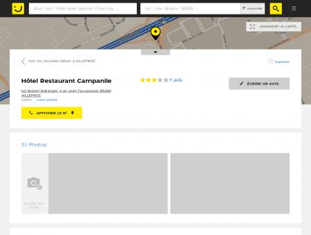 Hôtel Restaurant Campanile Villepinte...