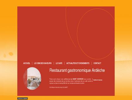 Le Saint Georges - Restaurant café Felines...