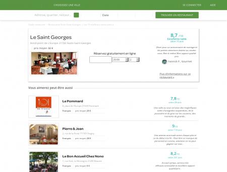 Le Saint Georges | LeSaintGeorges.LaFourchette.com