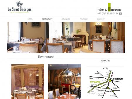 Restaurant - Hotel Saint Georges