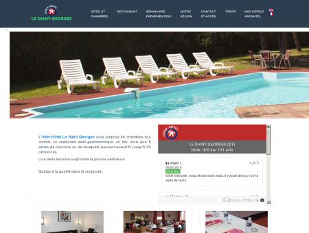 Site officiel de l'Inter-Hôtel restaurant Le Saint...