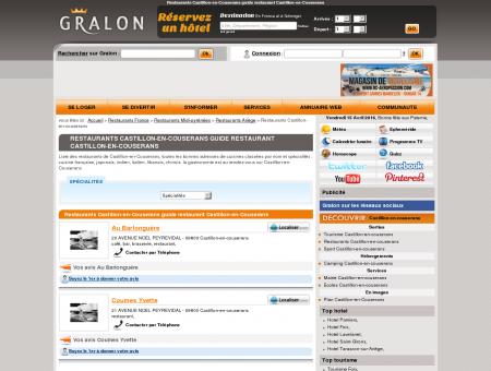 Restaurants Castillon-en-Couserans guide...