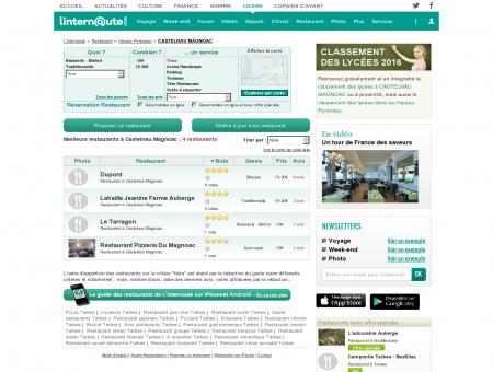 Restaurant Castelnau Magnoac : Le guide des...