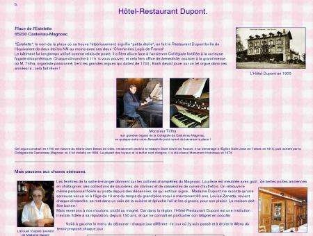 Restaurant Dupont à Castelnau-Magnoac - En...