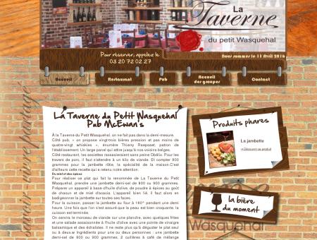 La taverne du Petit Wasquehal vous accueille...