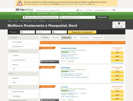 Les 10 meilleurs restaurants à Wasquehal -...