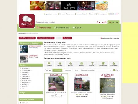 Restaurant Wasquehal - Guide Restaurants...