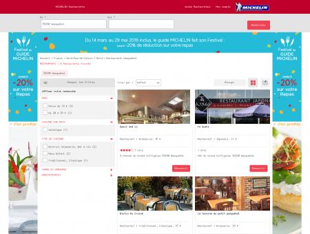 Restaurants 59290 Wasquehal - MICHELIN...