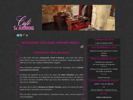Café Saint Antoine, restaurant à Annecy