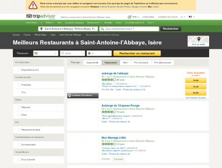 Les 5 meilleurs restaurants à Saint-Antoine...