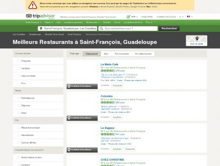 Les 10 meilleurs restaurants à Saint-François -...