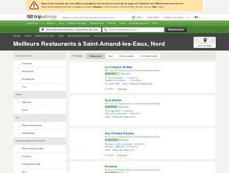 Les 10 meilleurs restaurants à Saint-Amand...