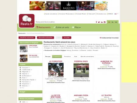 Restaurant Saint-Amand-les-Eaux - Guide...