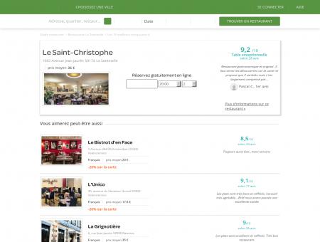 Le Saint-Christophe | LeSaint-Christophe.LaFourchette.com