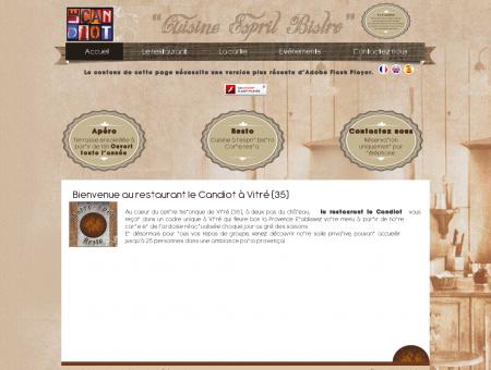Restaurant Le Candiot à Vitré (35) ...