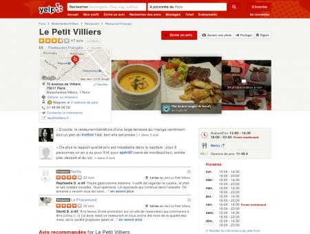 Le Petit Villiers - 34 Photos - Restaurant...