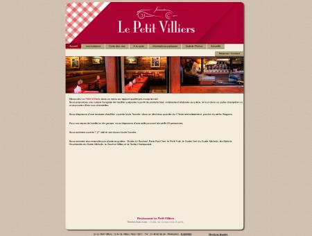 Le Petit Villiers, 75 Avenue de Villiers, 75017...