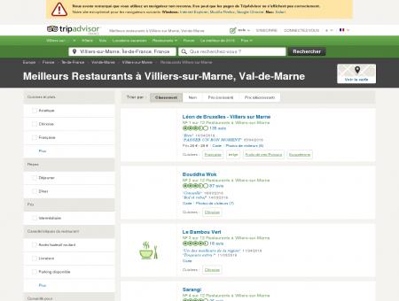 Les 10 meilleurs restaurants à Villiers-sur...