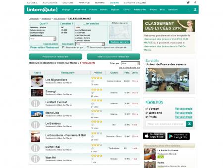 Restaurant Villiers Sur Marne : Le guide des...