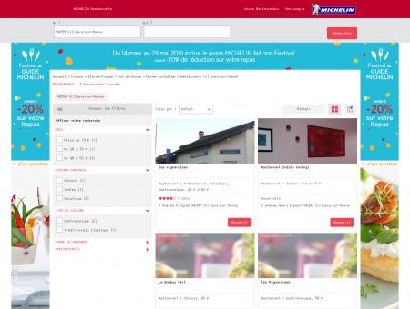 Restaurants 94350 Villiers-sur-Marne -...