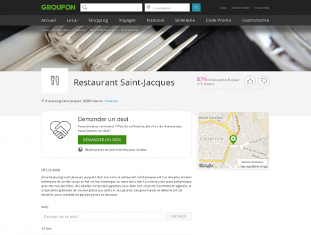 Restaurant Saint-Jacques - Valence |...