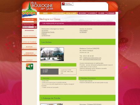 Boulogne sur Gesse, Les restaurants et...