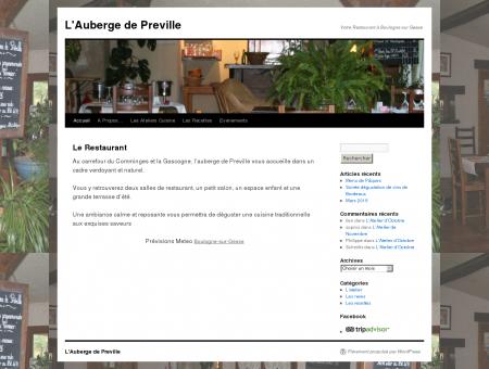 L'Auberge de Preville | Votre Restaurant à...