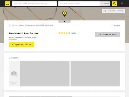 Les Arches, restaurant - Boulogne Sur Gesse...