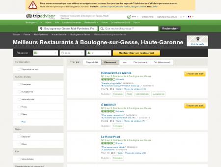 Les meilleurs restaurants à Boulogne-sur...