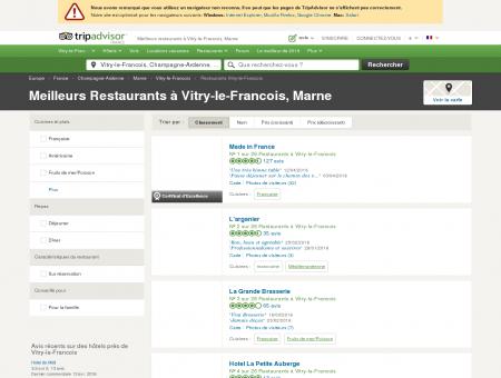 Les 10 meilleurs restaurants à Vitry-le-Francois ...