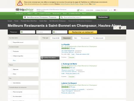 Les 5 meilleurs restaurants à Saint-Bonnet en...