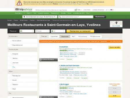 Les 10 meilleurs restaurants à Saint-Germain...