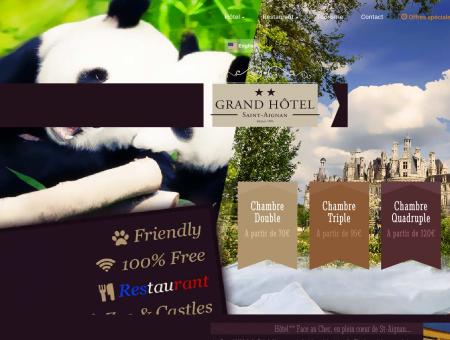 Grand Hôtel Saint-Aignan, Hôtel**...