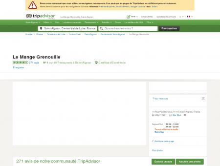 Le Mange Grenouille, Saint-Aignan -...