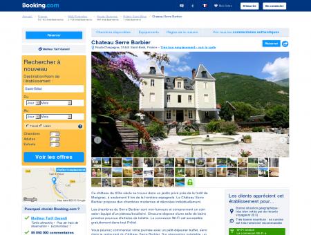 Booking.com: Maison d'hôtes Chateau Serre...