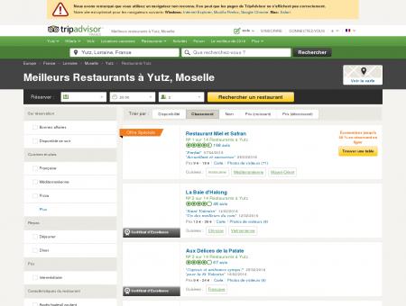 Les 10 meilleurs restaurants à Yutz - TripAdvisor
