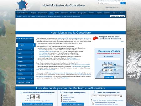 HOTEL MONTASTRUC-LA-CONSEILLERE :...