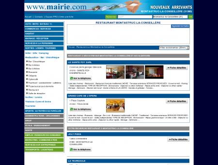 Restaurant Montastruc-la-Conseillère :...