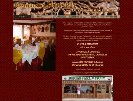 Hawely restaurant indien et pakistanais - Accueil