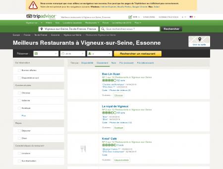 Les 10 meilleurs restaurants à Vigneux-sur...