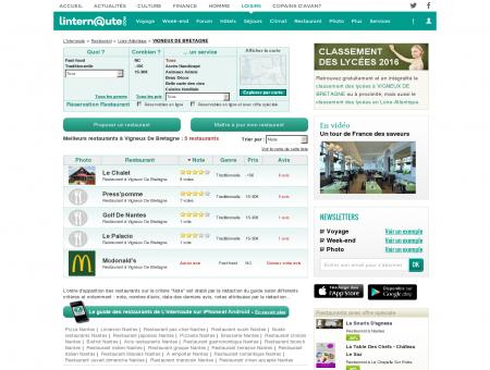 Restaurant Vigneux De Bretagne : Le guide...